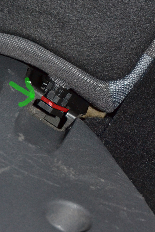 Fordclub Be Focus Mk2 Achterbank Rugleuning Verwijderen