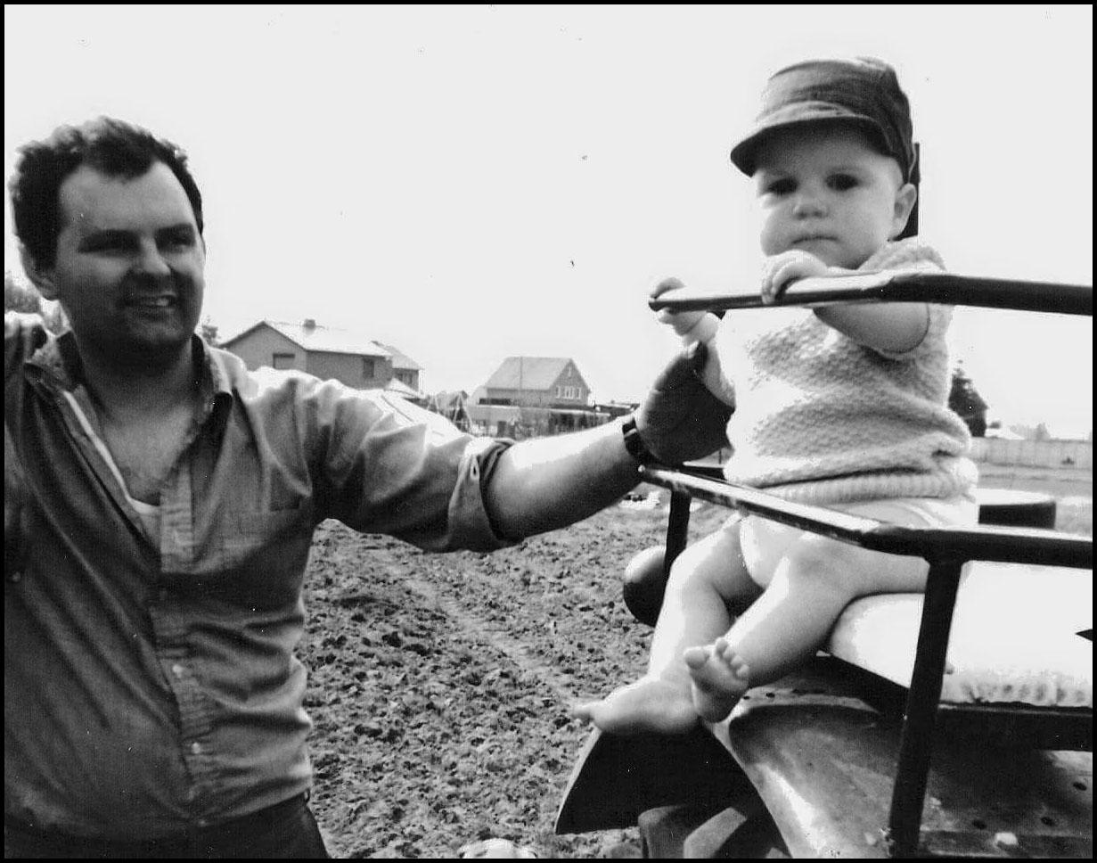 Jan Van Bael as a baby